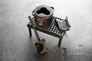 / 100 Objects from Finland. Description Aalto -vase mould in 1936, Iittala  TIMO JUNTTILA