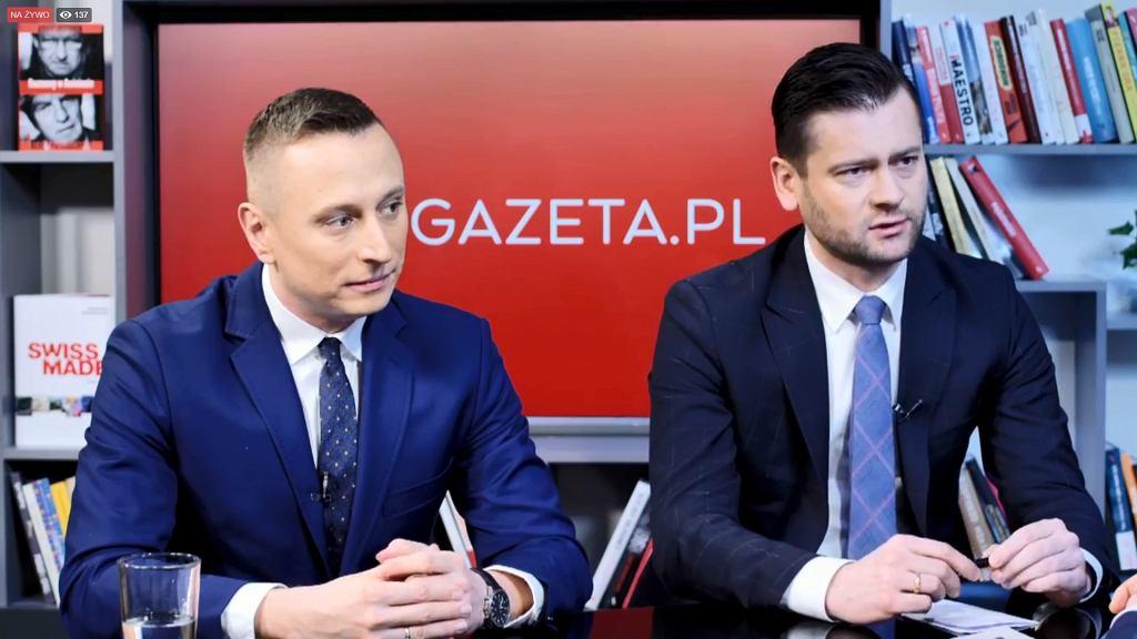 Poranna rozmowa Gazeta.pl. 21 lutego gośćmi byli poseł PO Krzysztof Brejza oraz poseł Zjednoczonej Prawicy Kamil Bortniczuk