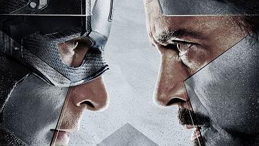 """""""Kapitan Ameryka: wojna bohaterów"""" - fragment plakatu"""