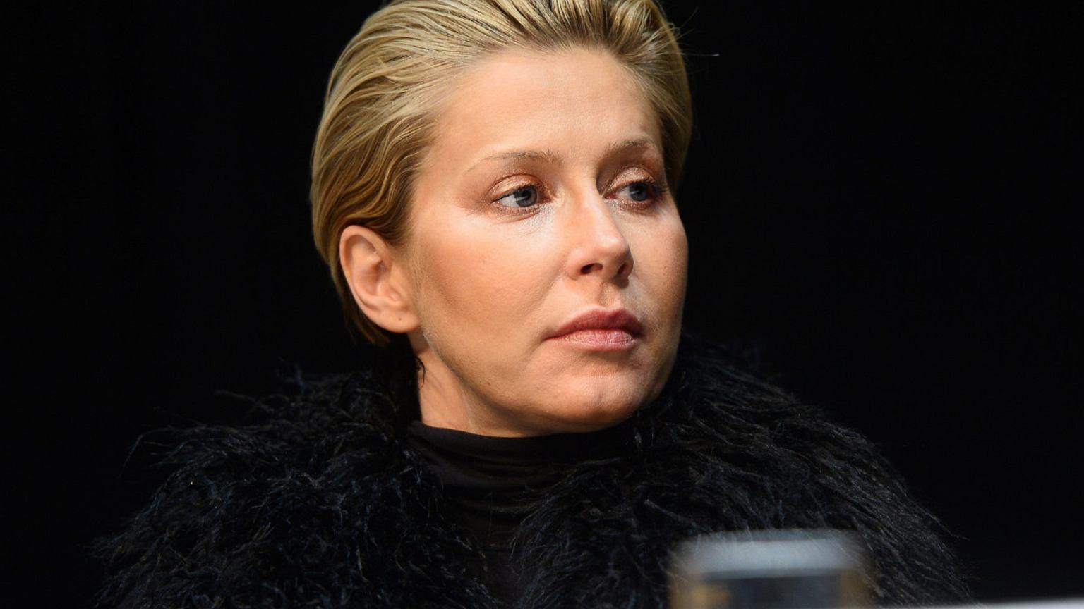 Katarzyna Warnke zjawiła się w studiu