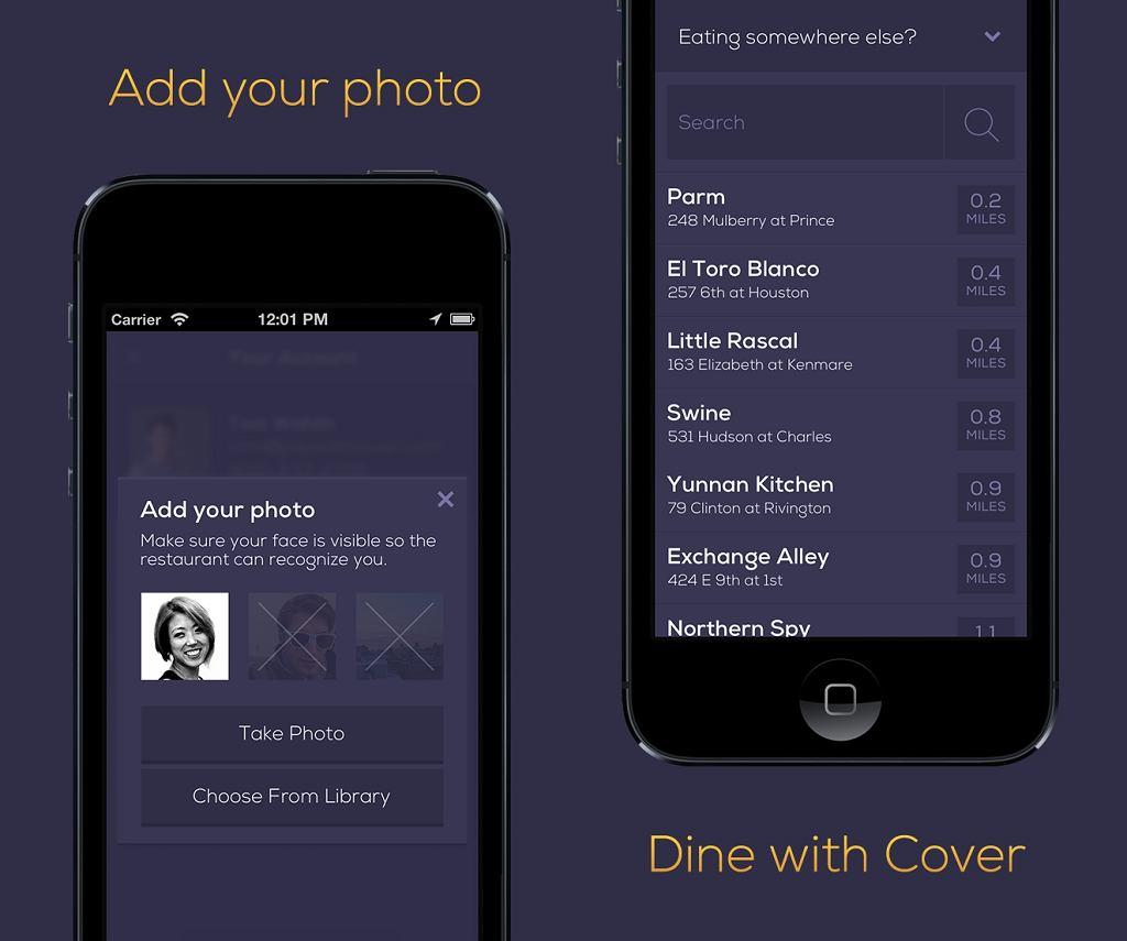 Tak wygląda aplikacja Cover