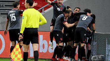 Eliminacje mundialu 2022. Piłkarze Albanii szaleją po strzeleniu zwycięskiego gola Węgrom