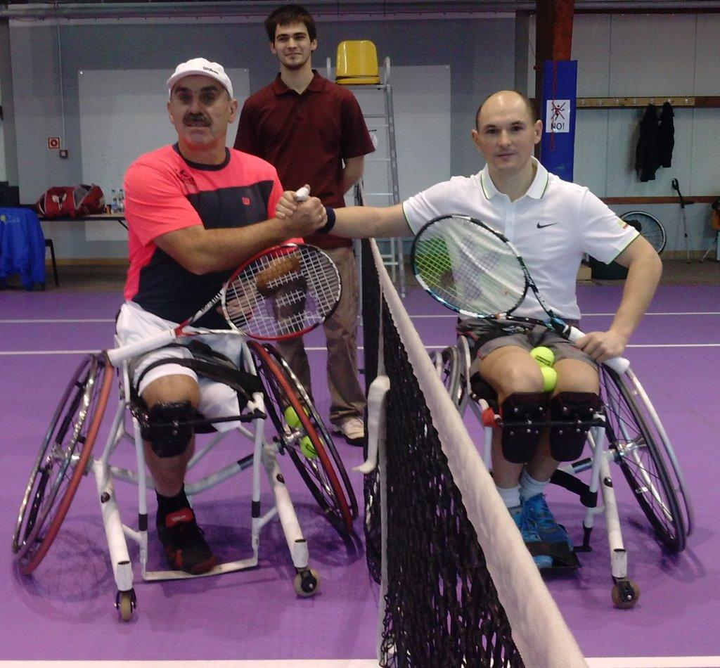 Od lewej: Tadeusz Kruszelnicki i Kamil Fabisiak