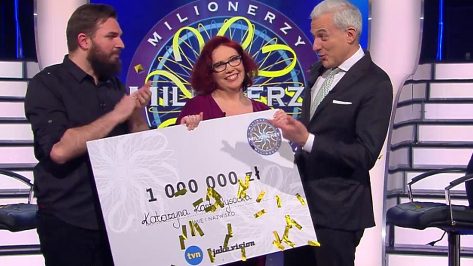 Milionerzy. Katarzyna Kant-Wysocka wygrała milion. Kim jest?