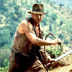 Harrison Ford w filmie 'Indiana Jones i Świątynia Zagłady'
