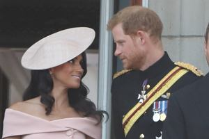 Trooping the Colour - o czym rozmawiała Meghan i Harry?