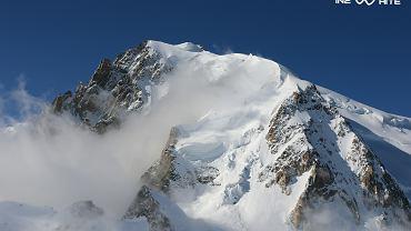 Fragment panoramy Mont Blanc