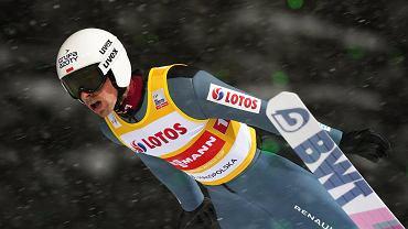 Polacy żartują z Graneruda po konkursie w Lahti.