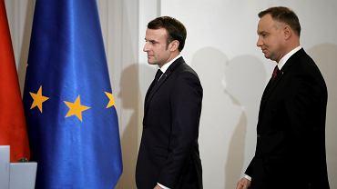 Konferencja prasowa Prezydenta Republiki Francuskiej i prezydenta Polski