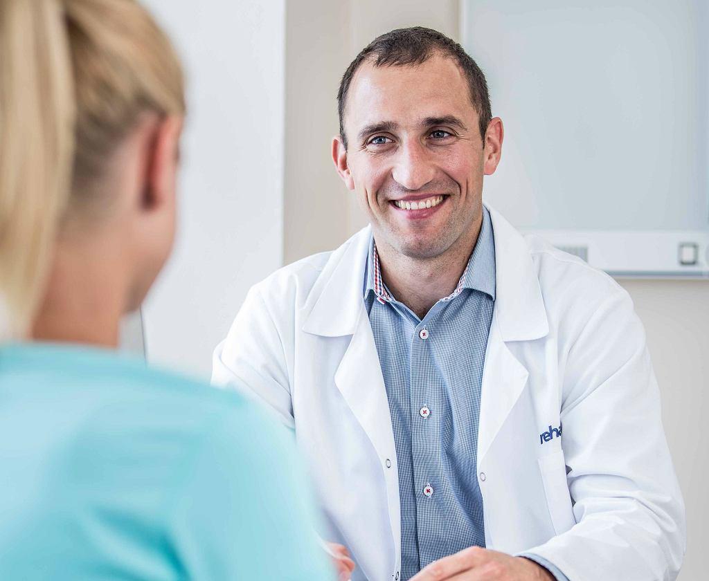 Dr Andrzej Pyda, ortopeda