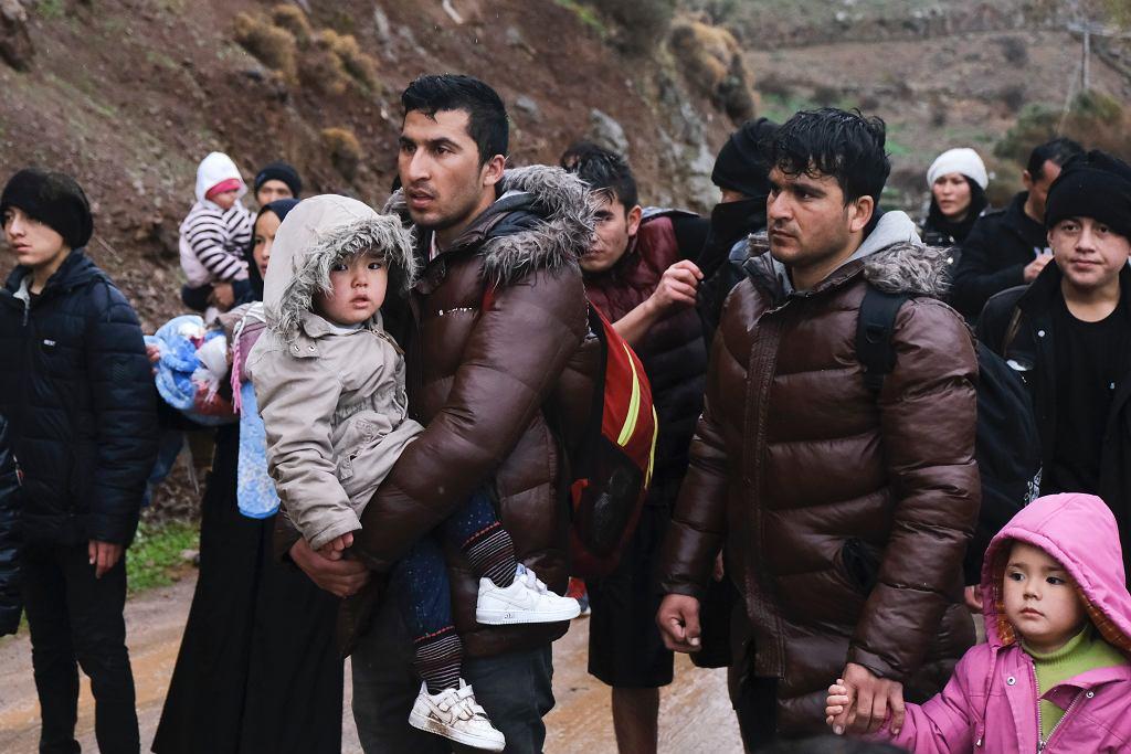 Azylanci na pograniczu Grecji i Turcji