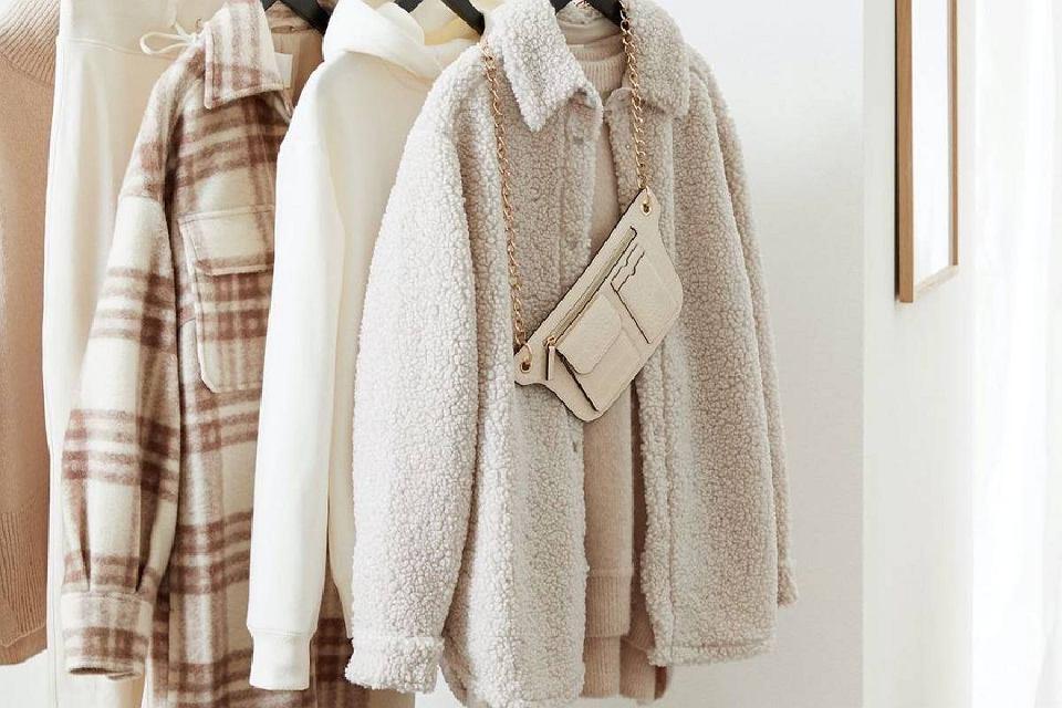 Koszulowe kurtki H&M