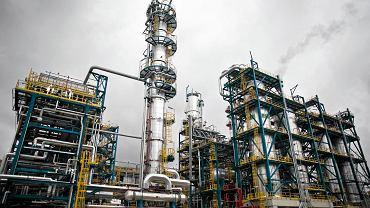 Rafineria Gdańska grupy Lotos.