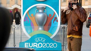 Logo Euro 2020 w Sankt Petersburgu