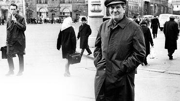 Kim Philby (1912-88) na moskiewskiej ulicy na przełomie lat 70. i 80. XX w. Brytyjski publicysta historyczny Gordon Corera twierdzi, że szpiegowska działalność Philby'ego nie tylko zdewastowała struktury brytyjskiego i amerykańskiego wywiadu, lecz ostatecznie położyła kres poczuciu imperialnej dumy w Zjednoczonym Królestwie. Kim Philby dopuścił się bowiem czegoś więcej niż tylko zdrady kraju. Zdradził swoją klasę społeczną, swoją kulturę i elitarny klub dobrze wychowanych dżentelmenów, do którego należał. Philby jednak do końca życia z dumą powtarzał: 'Moją jedyną ojczyzną jest ZSRR'.
