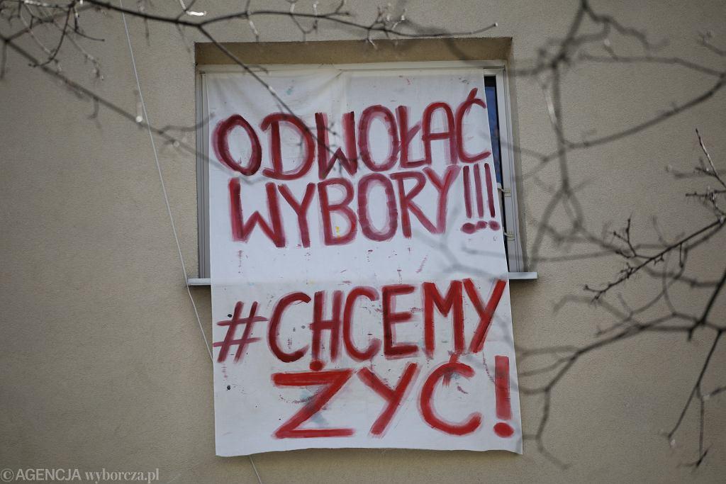 Transparent Odwołać wybory ! # chcemy żyć w Warszawie