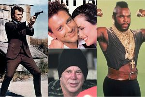 Steven Seagal na spotkaniu z Aleksandrem Łukaszenką pokazał farbowane włosy i brodę. Mickey Rourke po operacjach plastycznych nie przypomina siebie. Clint Eastwood starzeje się szlachetnie. A inni bohaterowie kina akcji z lat 80. i 90.? Mr. T, który zagrał w Drużynie A, ma dzisiaj 64 lata. Zobaczcie, jak wygląda teraz.