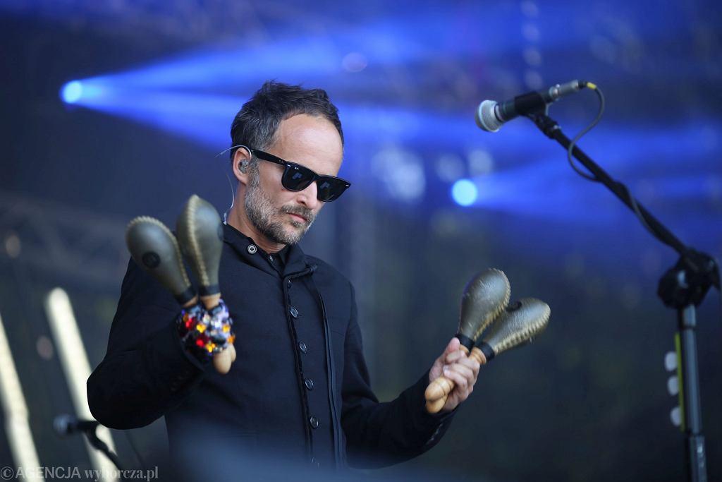 Artur Rojek podczas Pikniku Kulturalnego
