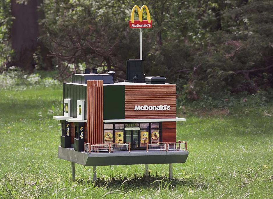 McDonald's nie tylko dla ludzi