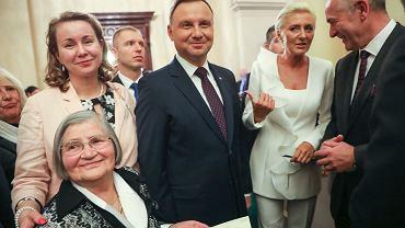 Andrzej Duda i Agata Duda w Australii