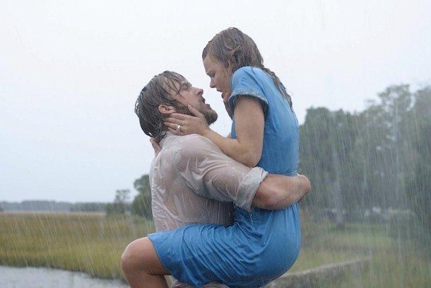 Rachel McAdams i Ryan Gosling w filmie