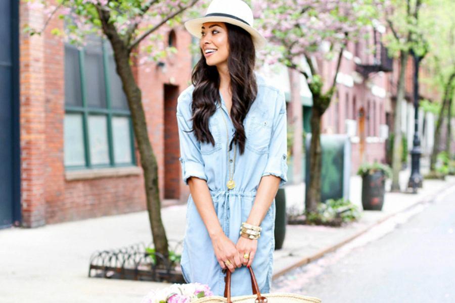 ed350de9 Jeansowe ubrania na lato: kurtki, spódnice, koszule i sukienki w ...