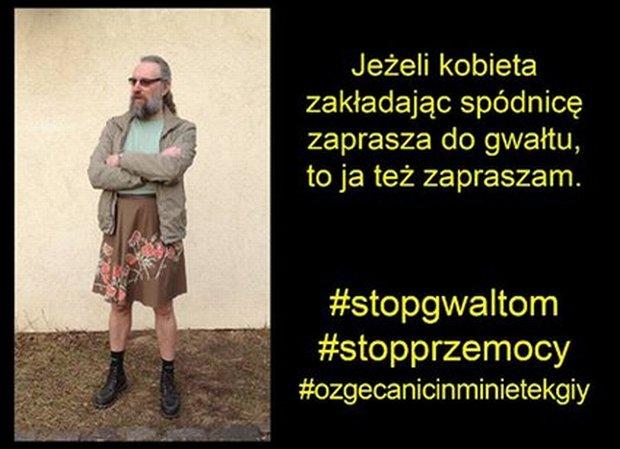 Mateusz Kijowski włączył się do akcji solidaryzowania się z kobietami