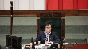 Marszałkini Sejmu Elżbieta Witek