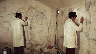 Sekretne pomieszczenie ze szkicami Michała Anioła