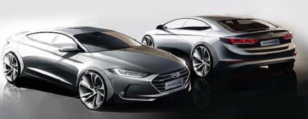 Nowy Hyundai Elantra pierwsze szkice