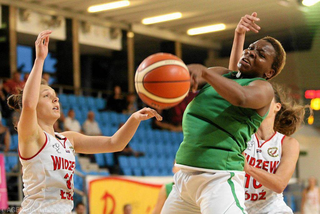 Międzynarodowy Turniej Koszykówki Kobiet. Pszczółka AZS UMCS - Widzew Łódź 83:66