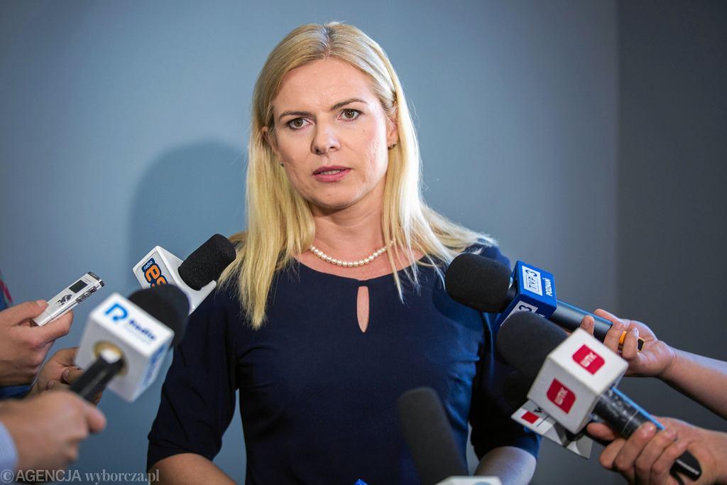 Posłanka Liberalno-Społecznych Joanna Schmidt