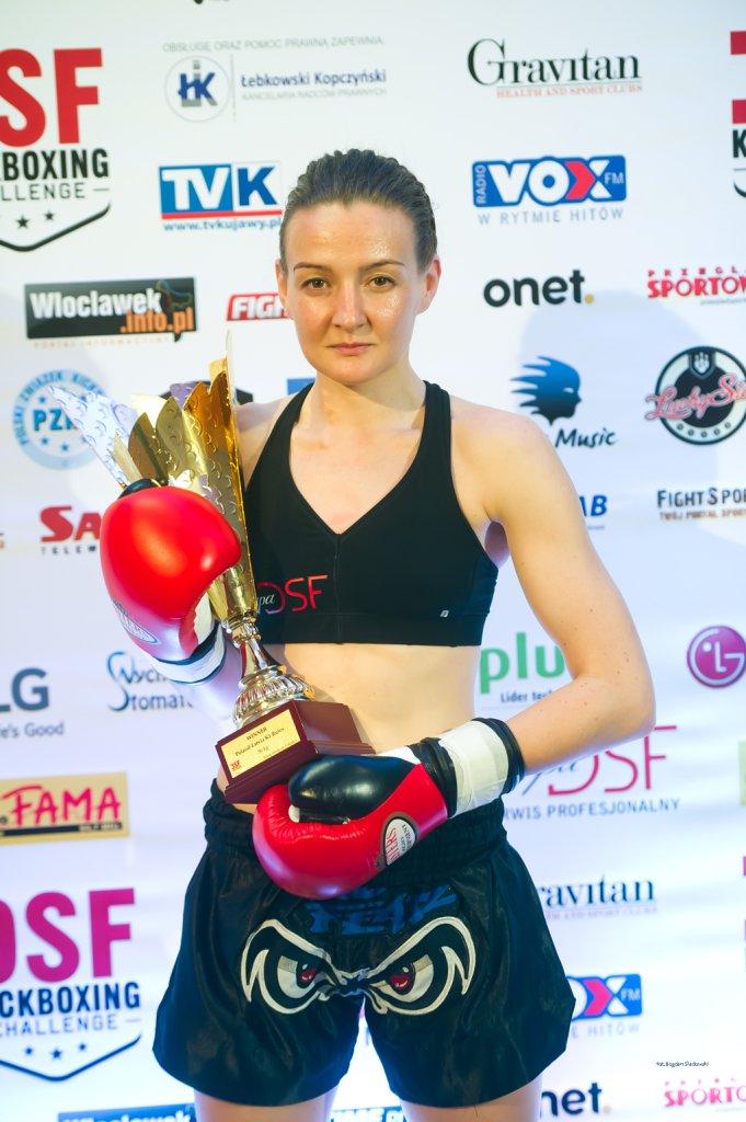 Dorota Godzina z X Fight Piaseczno