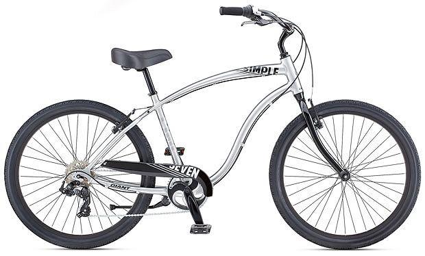 rowery, Przegląd stylowych miejskich rowerów, Rower Giant Simple 7. Cena: 1999 zł