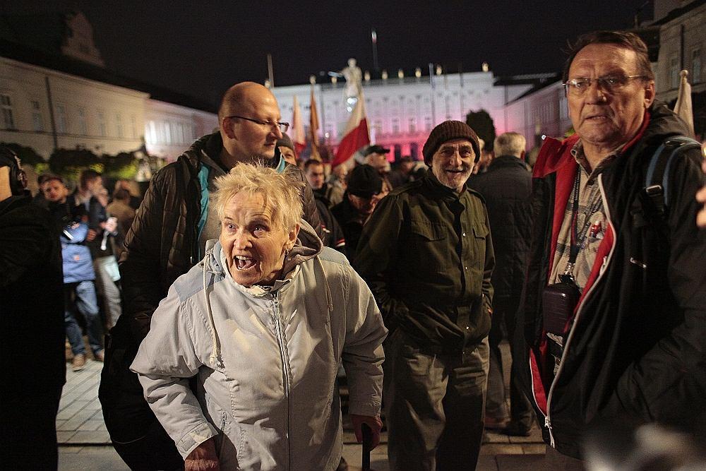 85. miesięcznica smoleńska w Warszawie