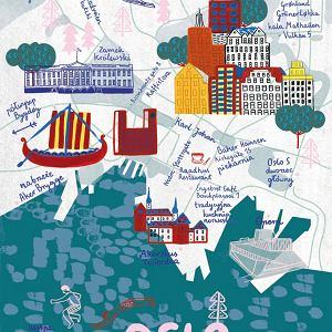 Mapa Oslo