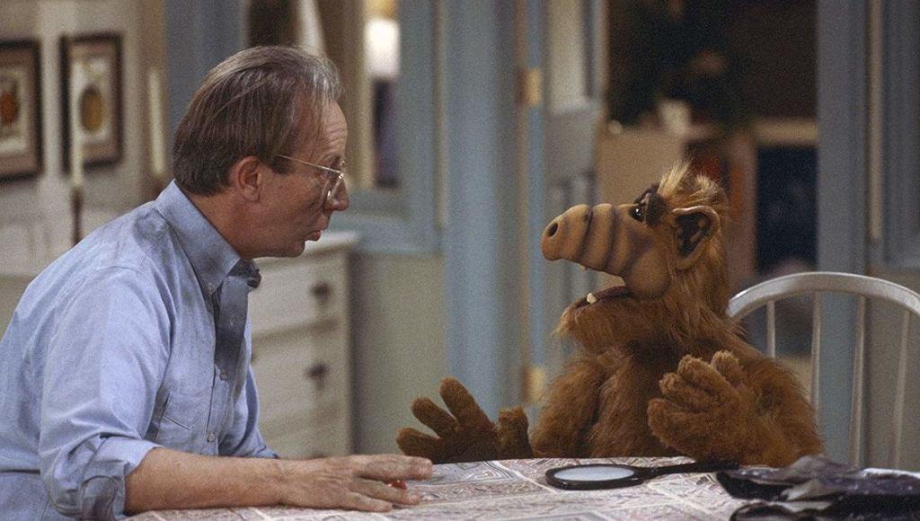 Max Wright nie żyje. Na zdjęciu w serialu 'Alf'