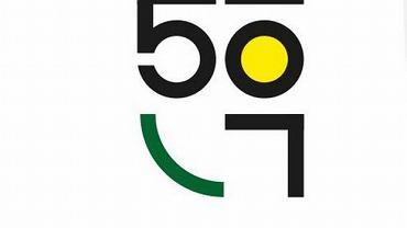 Logo jubileuszu GKS-u Katowice