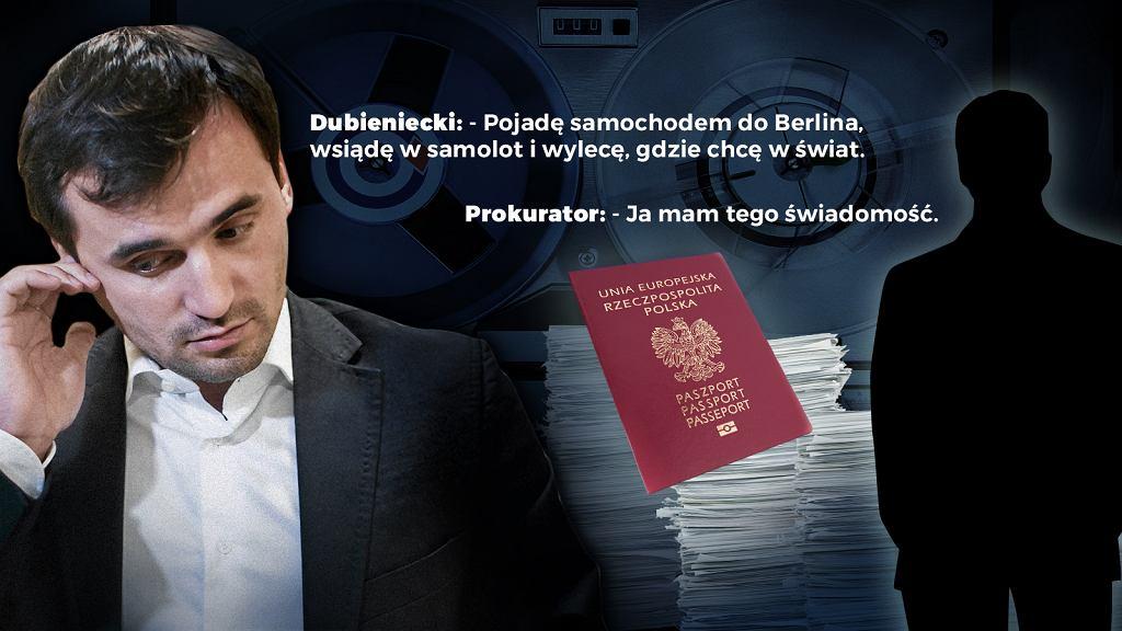 Gazeta.pl ujawnia 'taśmy Dubienieckiego'