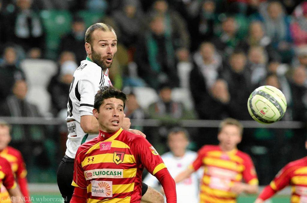 Jesienią Legia przegrała z Jagiellonią 1:2
