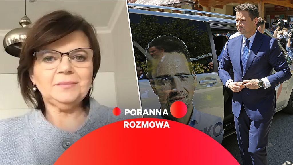 Izabela Leszczyna w Gazeta.pl