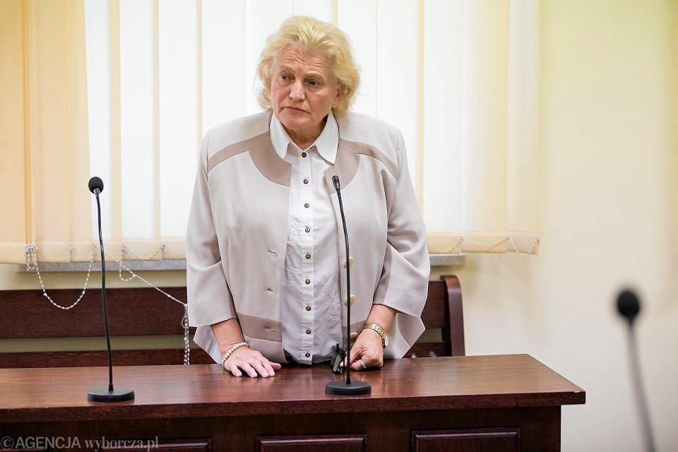 Sąd Okręgowy w Lublinie. Ogłoszenie wyroku w sprawie byłej radnej Anny Jaśkowskiej, która zniesławiła dobre imię Tadeusza Mazowieckiego