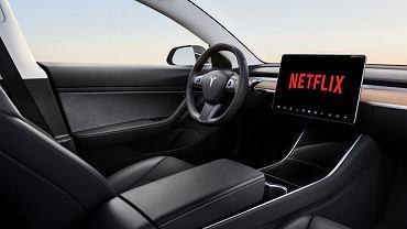 Tesla Netflix