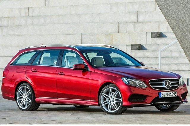 Mercedes klasy E po faceliftingu