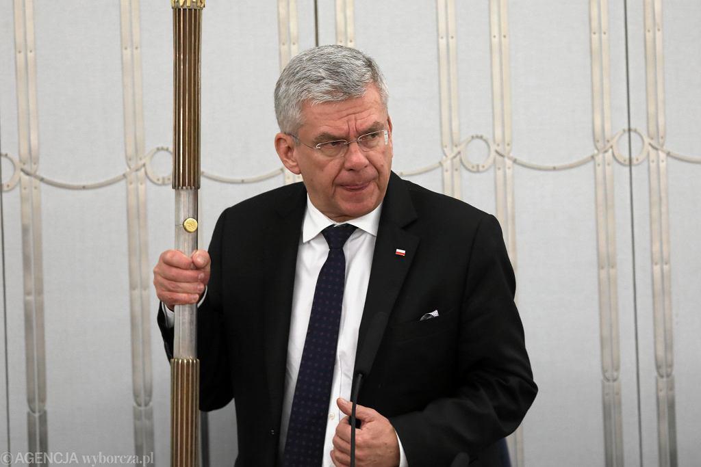 Marszałek Senatu Stanisław Karczewski.