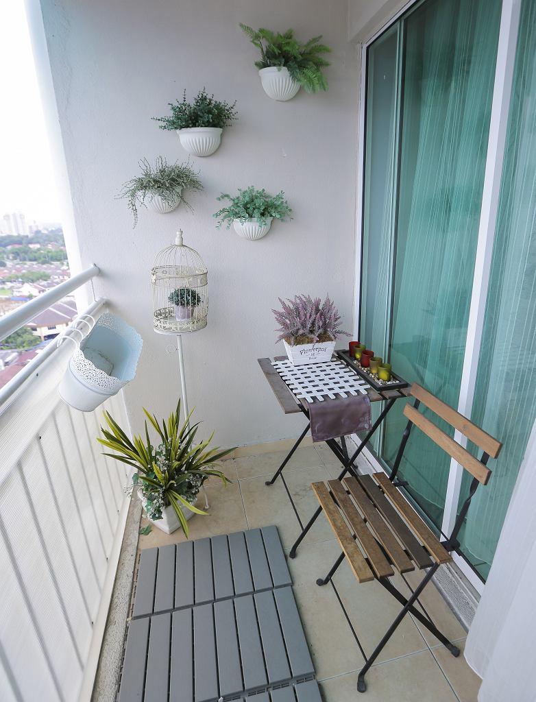 Jak wykorzystać potencjał małego balkonu?