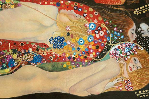 Gustav Klimt, Węże wodne