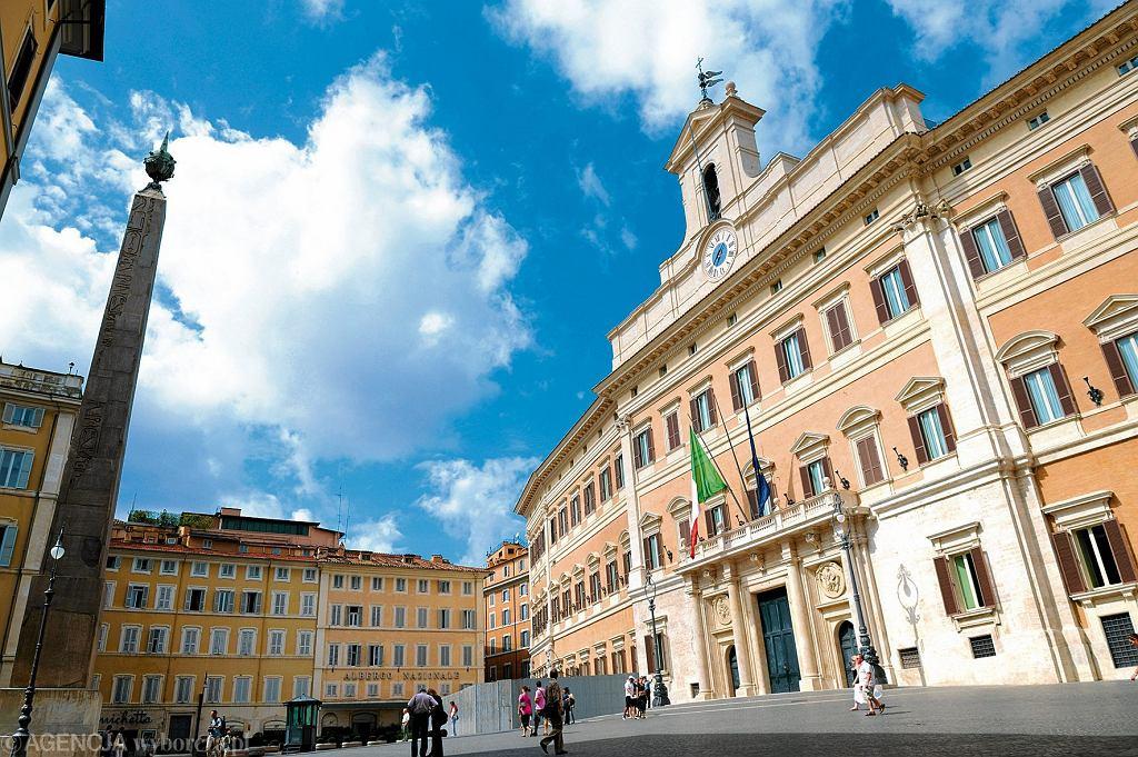 Montecitorio, siedziba włoskiego parlamentu
