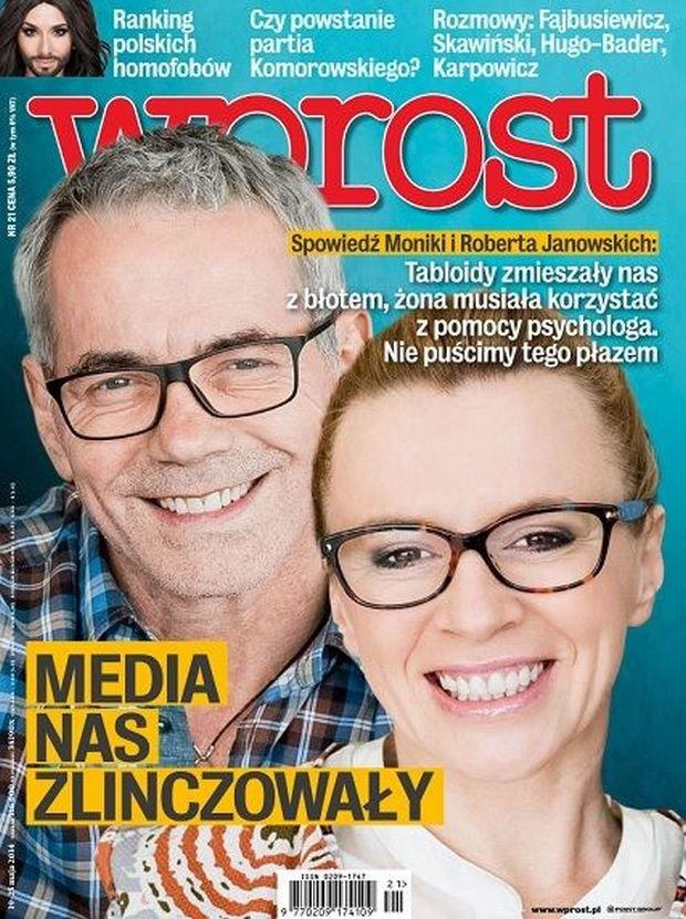 Monika Janowska i Robert Janowski