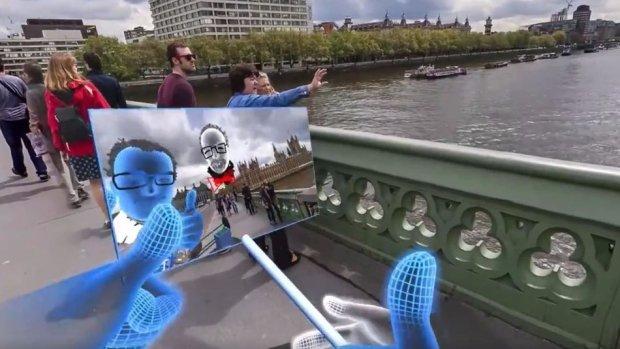 Selfie w rzeczywistości wirtualnej